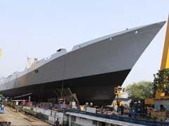 Fire On Under-Construction Warship Won't Impact Completion: Officials