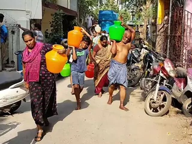 Video : கடும் தண்ணீர் பிரச்னையை சந்திக்கும் தமிழகத்தின் தலைநகர்