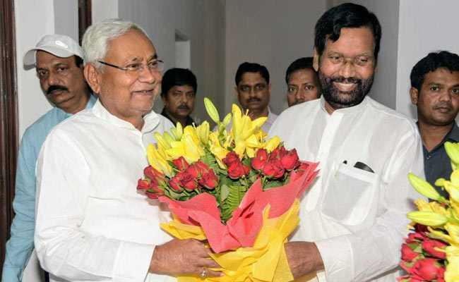 Ram Vilas Paswan Goes Off Script On Nitish Kumar's Role In Bihar Polls