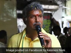 Sulking TDP Parliamentarian Kesineni Nani Rejects Party Whip Post