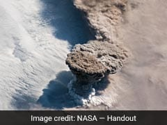 Astronauts Capture Breathtaking Scene Of Volcano Violently Erupting