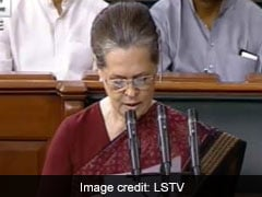 Why Sonia Gandhi Brought Transcript Of Donald Trump Remarks To Lok Sabha