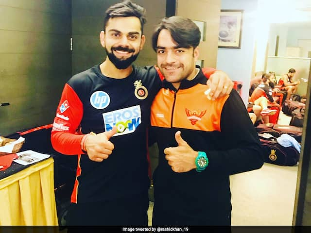 """Watch: Rashid Khan Reveals How Afghan Teammate Stole """"Special Bat"""" Given To Him By Virat Kohli"""