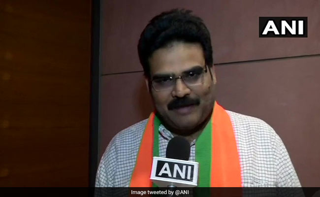Chandrababu Naidu's Party Spokesperson Lanka Dinakar Joins BJP