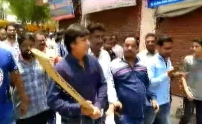 'Salute Akash Ji' Posters For BJP Leader Arrested For Thrashing Official