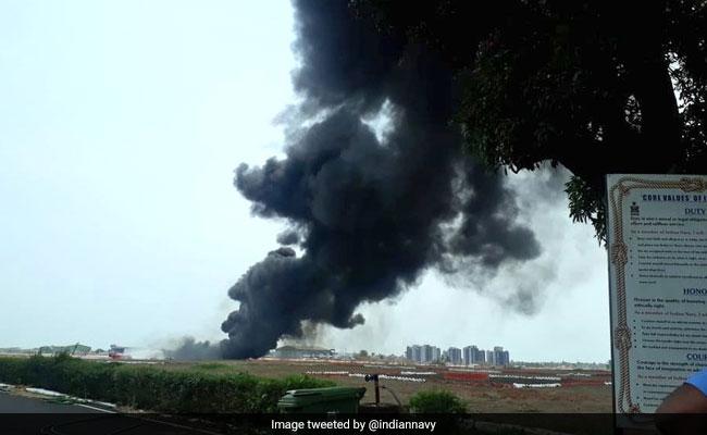 गोवा एयरपोर्ट के पास फाइटर प्लेन के ईंधन की टंकी गिरी, विमानों की आवाजाही कुछ देर के लिए रोकी गई