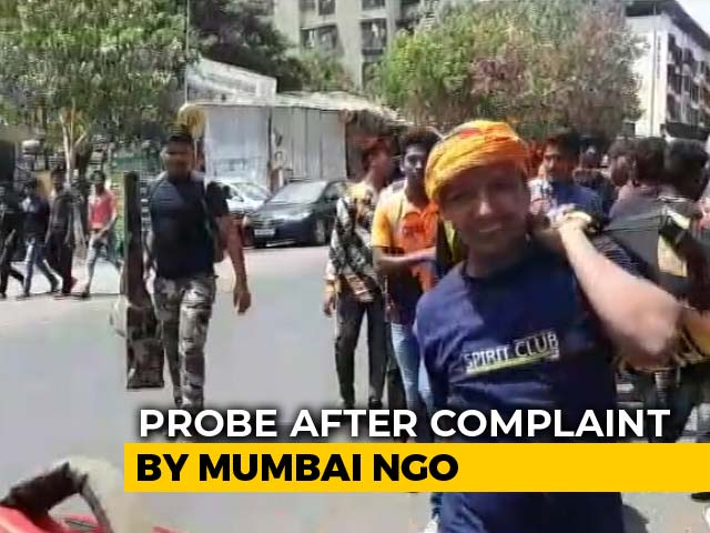 "Video : Bajrang Dal Accused Of Holding ""Arms-Training"" Camp At Mumbai School"