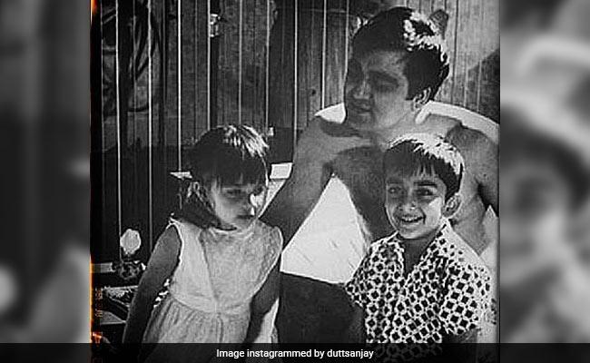 Sanjay Dutt Struck Gold In His Photo Archive On Father Sunil Dutt's Birth Anniversary