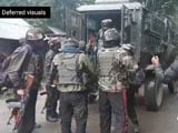Video : Army Vehicle Attacked In Jammu And Kashmir's Pulwama, Encounter Underway