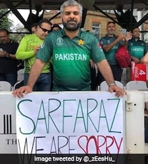 'Sarfaraz, We Are Sorry': Pakistan Fans Apologise After Critical Remarks