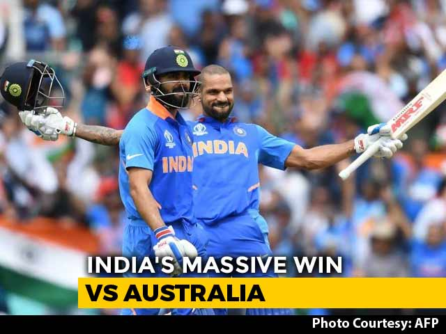 World Cup 2019: All-Round India Beat Australia By 36 Runs