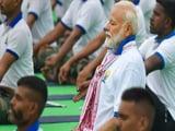 Video : আজ যোগ দিবসে রাঁচিতে ব্যায়াম করলেন মোদি