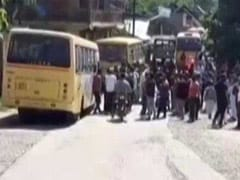 "Outrage Over Crying Children Video As Bus Driver ""Beaten"" By Army In J&K"