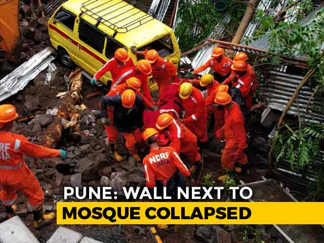 Video : 15 Dead After Pune Apartment Complex Wall Crashes, Many Cars Stuck