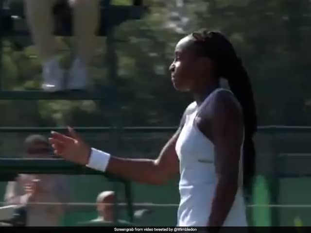 Cori Gauff became the youngest player to qualify for Wimbledon