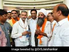 """Beyond What You Can Imagine"": S Jaishankar Flags Off Mansarovar Yatra"