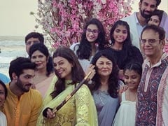 Sushmita Sen's Pics From Brother Rajeev Sen And Charu Asopa's Goa Wedding Light Up Instagram