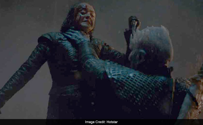 The Internet Thinks Game Of Thrones' Arya-Night King Scene Has An Indian Connection