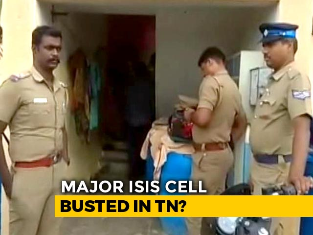 Video : Day After ISIS Recruiter's Arrest, Raids Continue In Coimbatore