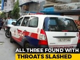 Video : Elderly Couple, Help Found Dead With Throats Slit At South Delhi Home