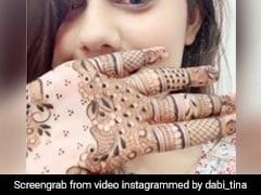 IAS टॉपर रहीं टीना डाबी खान का वीडियो हुआ वायरल, प्रिया प्रकाश वारियर को यूं दी टक्कर