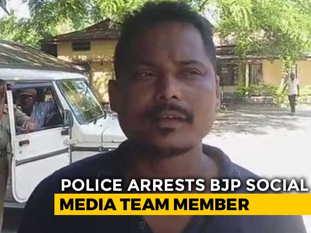 Video : Assam BJP's Social Media Member Arrested For Provocative Posts