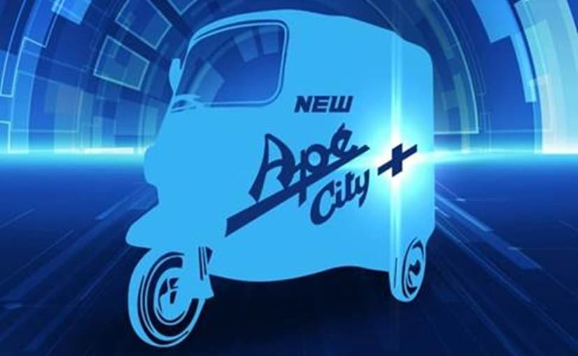 The new Piaggio Ape City Plus three-wheeler is slated to be launched on June 14, 2019