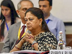 Vasundhara Raje's Supporters Form New Outfit In Rajasthan