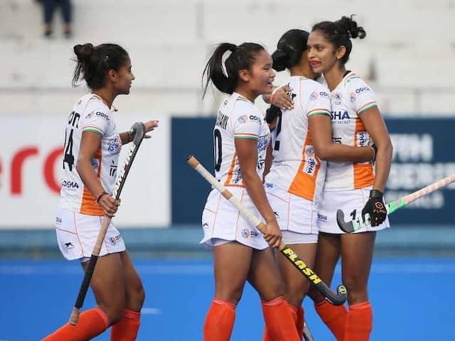 Indian Womens Hockey Team Thrash Poland 5-0 in FIH Womens Series Finals