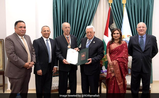Indian-Origin Man Honoured With 'Star Of Jerusalem' Medal By Palestine