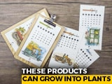 Video : Don't Discard Calendars As This Duo From Agra Makes It Plantable