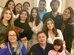 A Bachchan-Kapoor Family Pic: Rishi Kapoor, Aishwarya, Aaradhya And Ranbir (Bonus: Alia Bhatt)