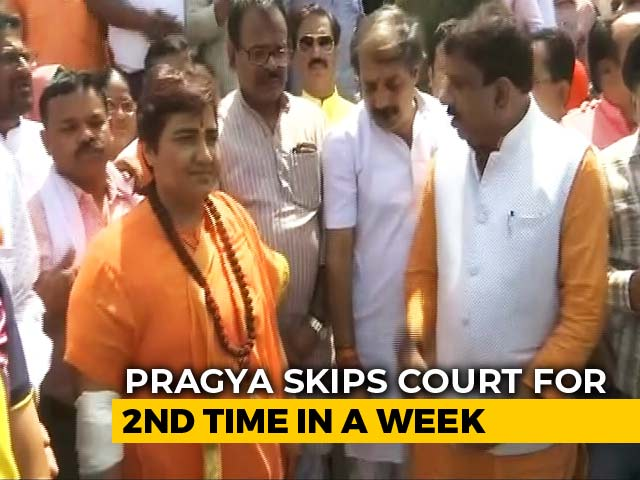 Video : Pragya Thakur Skips Court Again; She's In Hospital, Say Lawyers