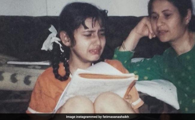 This Is How Much Little Fatima Sana Shaikh Hated 'Padhai'