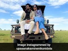 <I>Into The Wild</I>: Ram Charan And Wife Upasana Kamineni's Pre-Anniversary Trip To Africa
