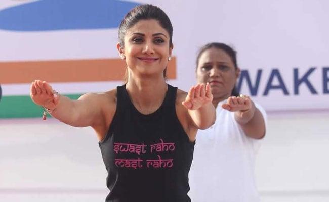 International Yoga Day 2019: Shilpa Shetty Won't Let Rain Get In The Way Of Her Asanas