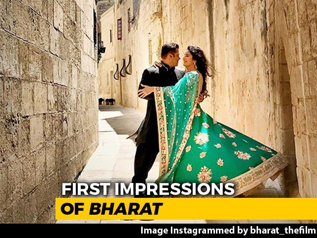 First Impressions Of Salman & Katrina's Bharat