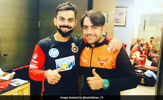 World Cup 2019: Rashid Khan says How Afghan teammate stole special bat given to him By Virat Kohli
