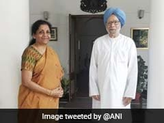 Nirmala Sitharaman Meets Manmohan Singh Days Before Her First Budget