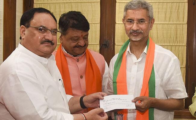 Foreign Minister S Jaishankar Formally Joins BJP