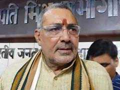 """Judgment Delivered In English"": Giriraj Singh Mocks Pak For Jadhav Tweet"
