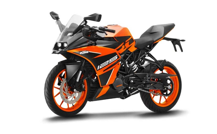 Ktm Rc 125 Abs Launched In India Priced At Rs 1 47 Lakh Ndtv