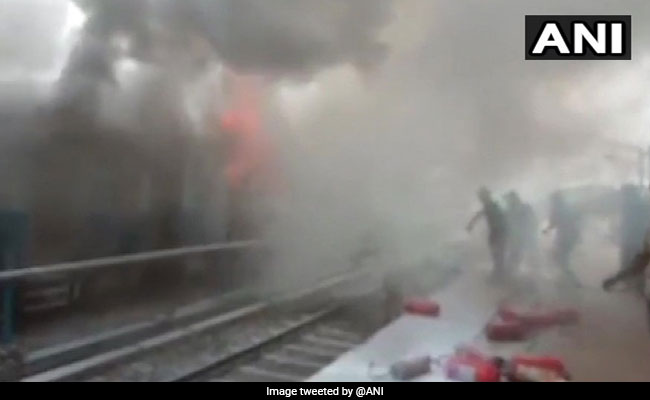 3 Coaches Of Stationary Silchar-Trivandrum Express Catch Fire In Assam