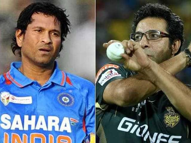 World cup 2019: Wasim Akram reveals, big mistake was done by he, waqar & Akhtar against Sachin Tendulkar in 2003 edition Match