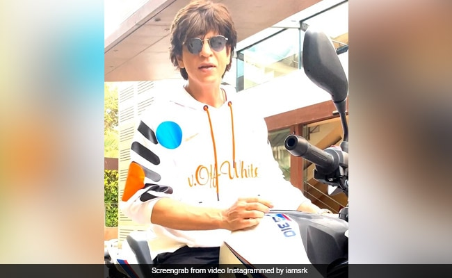 Shah Rukh Khan is looking to take the BMW G 310 bike out on a spin