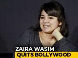 Video : <i>Dangal</i> Actress Zaira Wasim Announces 'Disassociation' From Films