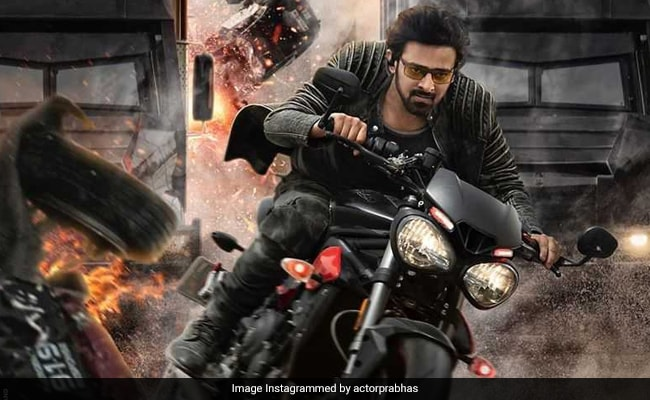 Saaho: Prabhas Shares New Poster. Reminds Fans Of The Teaser's Release