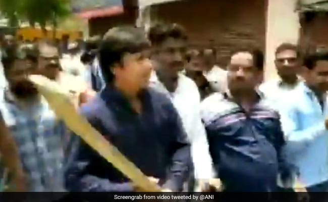 Building Over Which BJP's Akash Vijayvargiya Hit Official Demolished