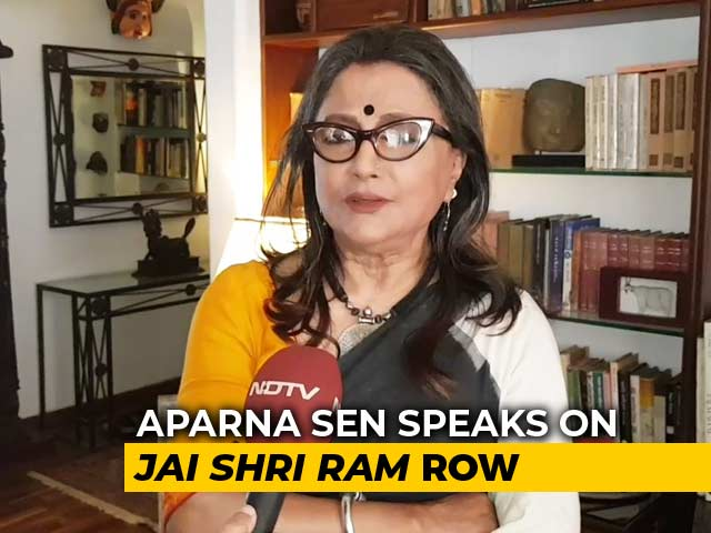 "Video : Mamata Banerjee ""Digging Her Own Grave"": Aparna Sen On ""<i>Jai Shri Ram</i>"" Row"