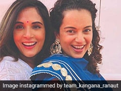 Inside Kangana Ranaut And Richa Chadha's Eid Celebrations On The Sets Of <i>Panga</i>